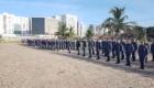 Formatura marca apresentação de cadetes no estagio em batalhoes